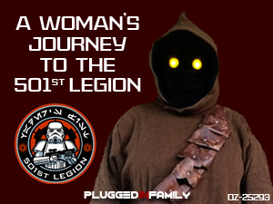 A woman's journey to the 501st Legion Jawa DZ-25293