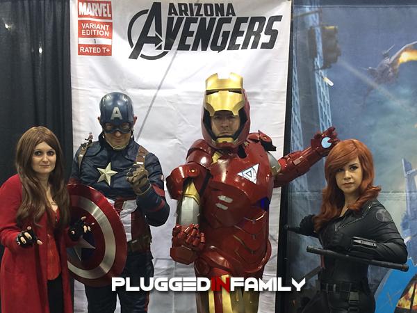 Arizona Avengers at Phoenix Comicon 2016