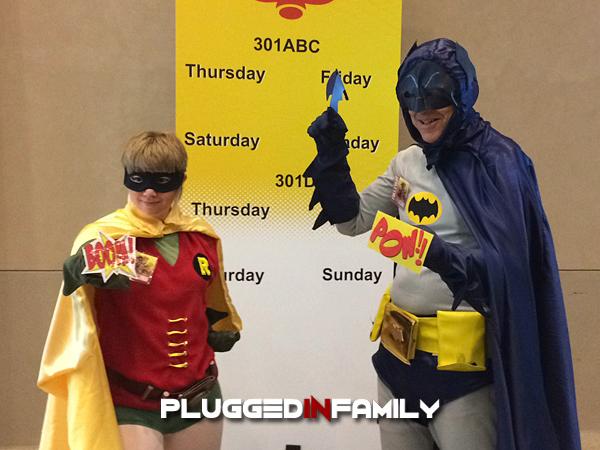 Batman and Robin at Phoenix Comicon 2016