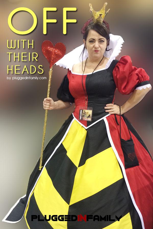 Disney Queen of Hearts Cosplay at Phoenix Comicon 2016