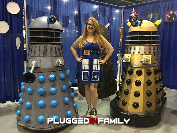Dr. Who Fan at Phoenix Comicon 2016