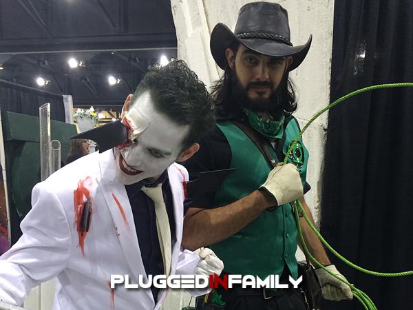 Green Lantern Cowboy at Phoenix Comicon 2016