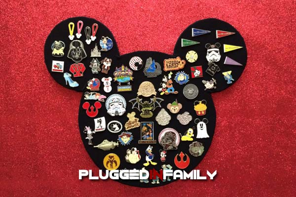 Mickey Pin Board