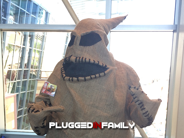 Oogie Boogie Cosplay from The Nightmare Before Christmas at Phoenix Comicon 2016