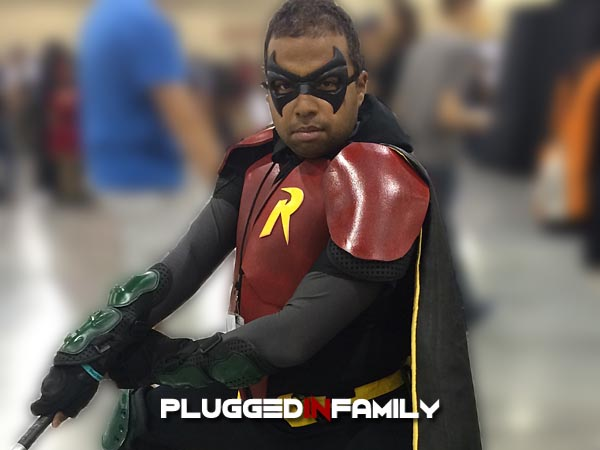 Robin Cosplay Phoenix Comicon 2016