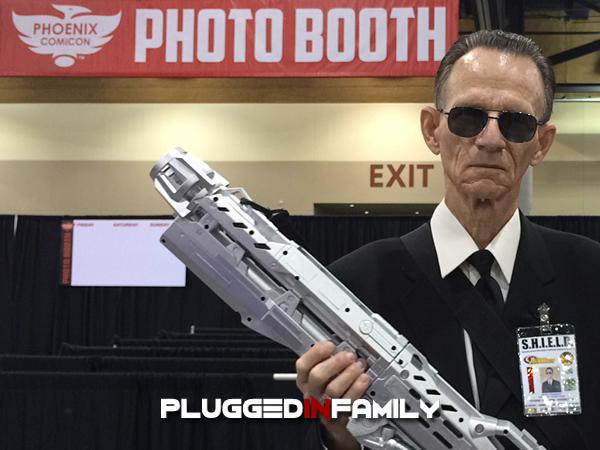 S.H.I.E.L.D. Agent at Phoenix Comicon 2016