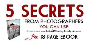 5 Photography Secrets eBook