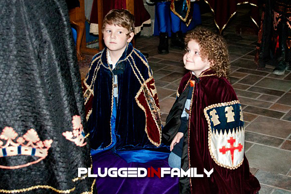 Medieval Times Knighting