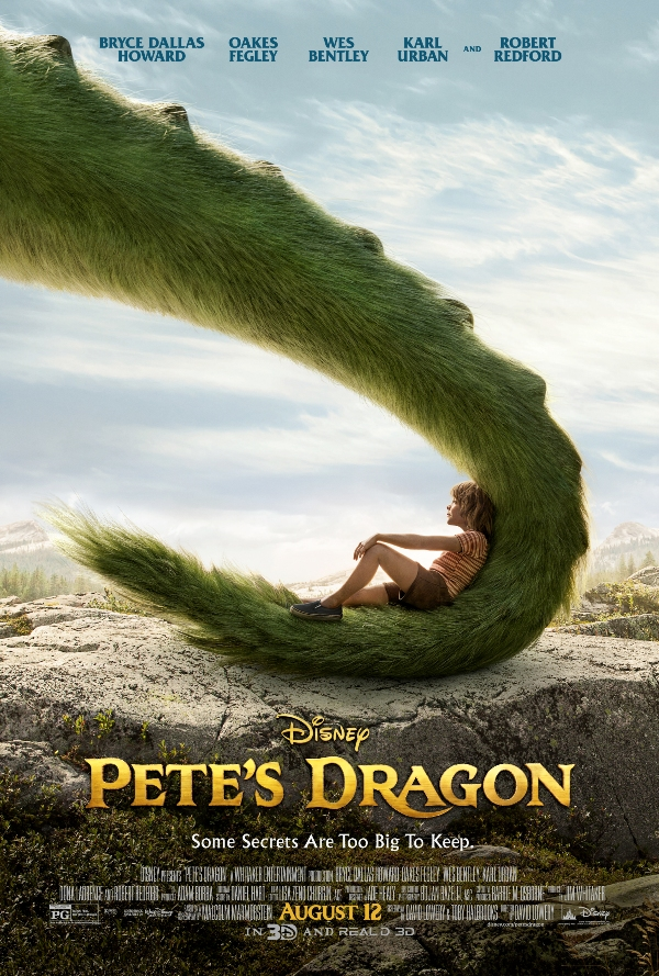 Disney's Pete's Dragon Movie Poster
