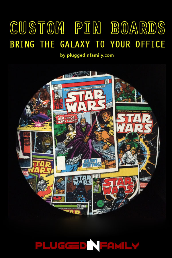 Custom Star Wars Pin Boards bring the galaxy to your office