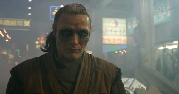 Mads Mikkelsen plays Kaecilius in Doctor Strange