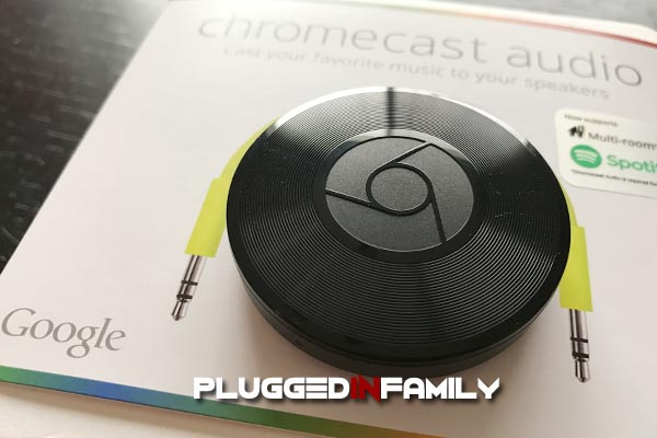Chromecast Audio fills your home with sound