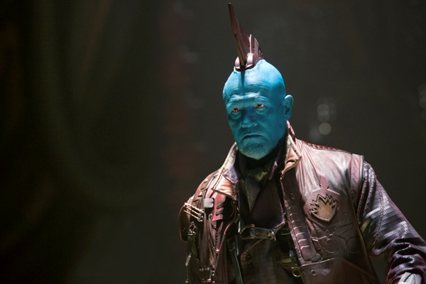 Yondu played by Michael Rooker in Guardians of the Galaxy Volume 2