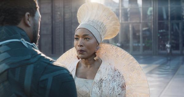 Black Panther's mother Queen Ramonda Angela Bassett