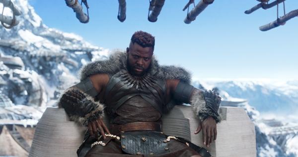 M'Baku Man-Ape played by Winston Duke