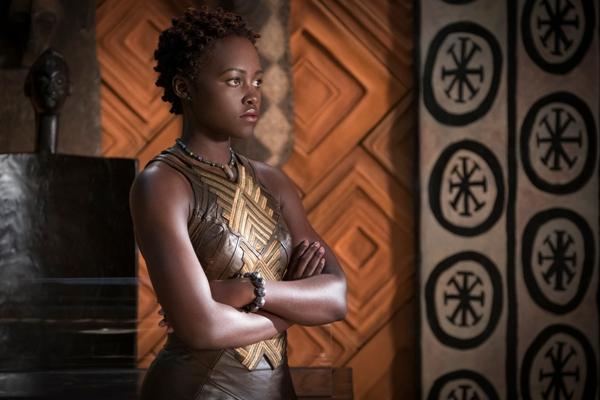 Nakia is played by Lupita Nyong'o