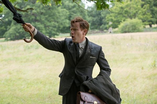 Ewan McGregor as Christopher Robin fighting Heffalumps