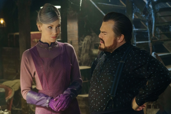 Cate Blanchett and Jack Black