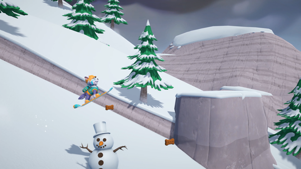 Everest Skiing in PAW Patrol On A Roll video game