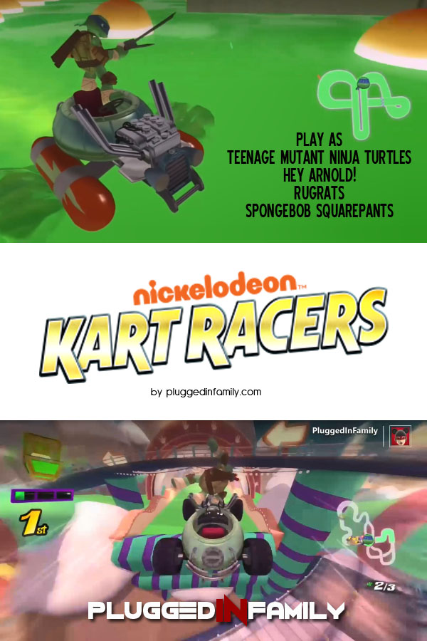 Nickelodeon Kart Racers Video Game