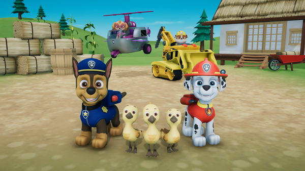 PAW Patrol On A Roll Video Game