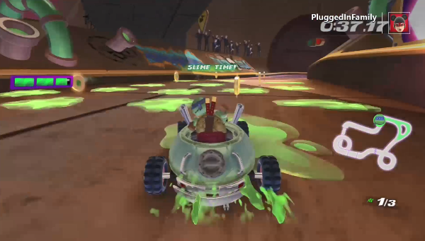 Slime Time in Kart Racers