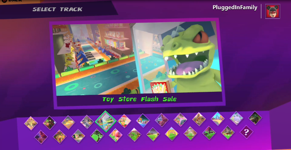 Toy Store Flash Sale Track