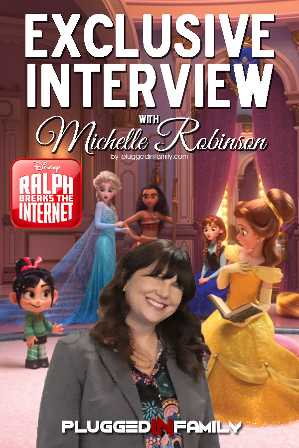 Exclusive Interview with Michelle Robinson Ralph Breaks the Internet with Walt Disney Animation Studios
