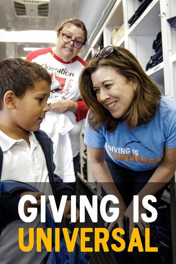 Giving is Universal with 14th Annual Day of Giving at Universal Studios Hollywood