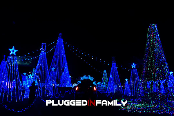 Nearly two million Christmas lights drive thru