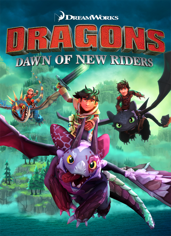 DreamWorks Dragons Dawn of New Riders video game