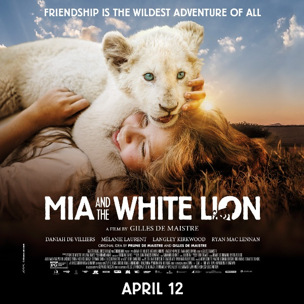 Mia and the White Lion movie poster
