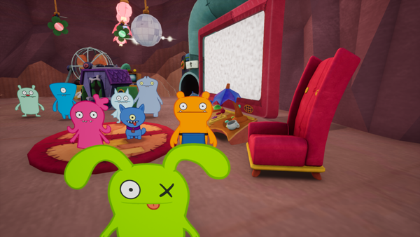 Ox and friends from UglyDolls An Imperfect Adventure video game