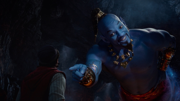 Will Smith as Genie in Aladdin 2019