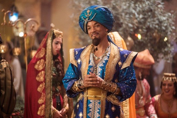 Will Smith plays Genie in Aladdin movie