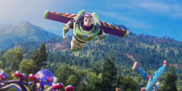 Buzz Lightyear flies high in Toy Story 4