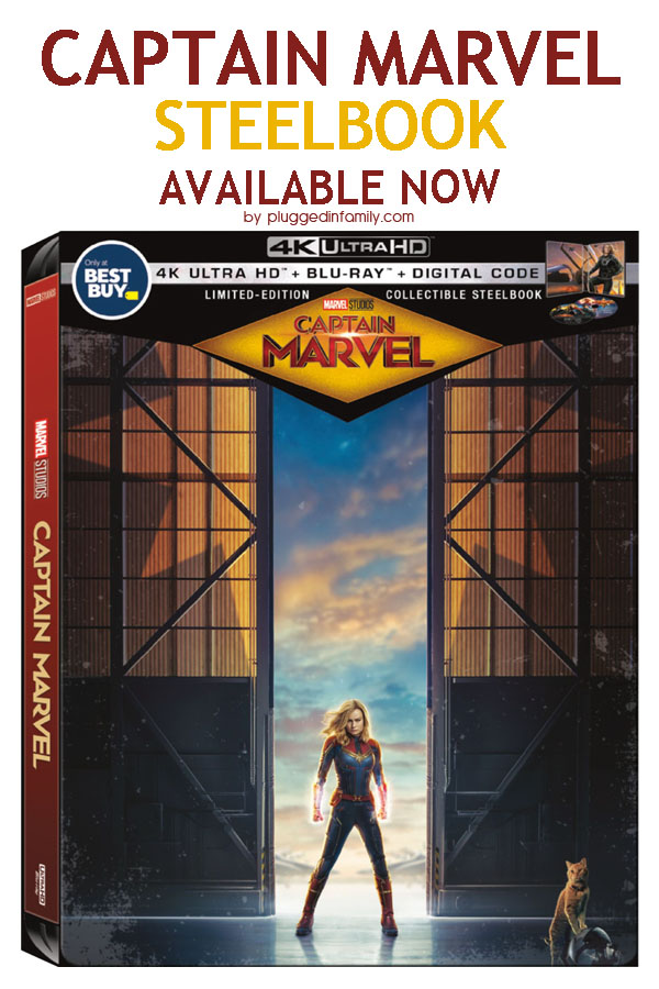 Captain Marvel SteelBook BluRay Digital at Best Buy