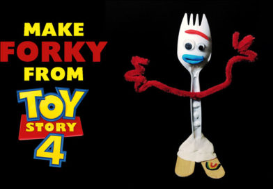 How To Make Forky From Toy Story 4 Video Tutorial