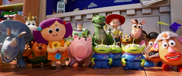 The toys in Toy Story 4
