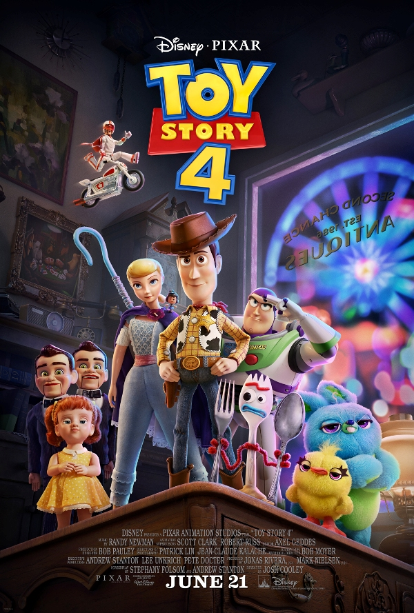 Toy Story 4 Movie Review poster