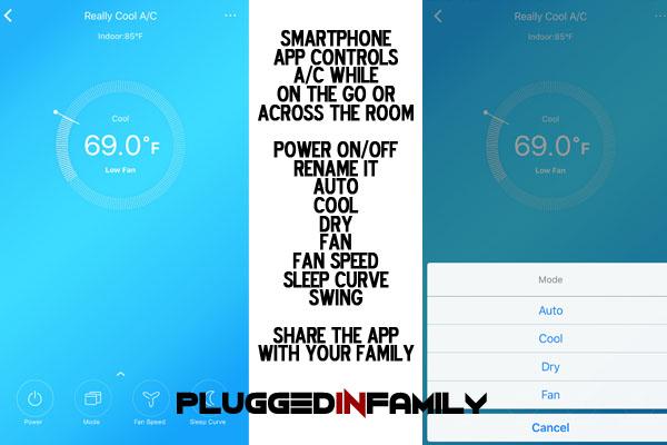 Midea Smartphone App for Portable AC Control