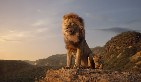 Mufasa voiced by James Earl Jones in The Lion King
