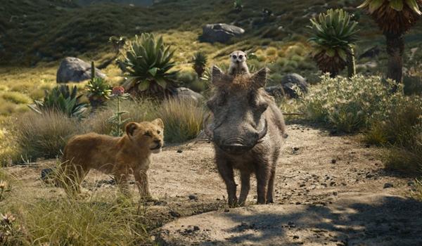 Pumba Timon Simba The Lion King movie