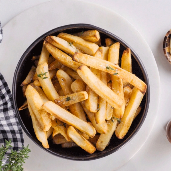 Air fry french fries with Breville Combi Wave 3-in-1 Microwave