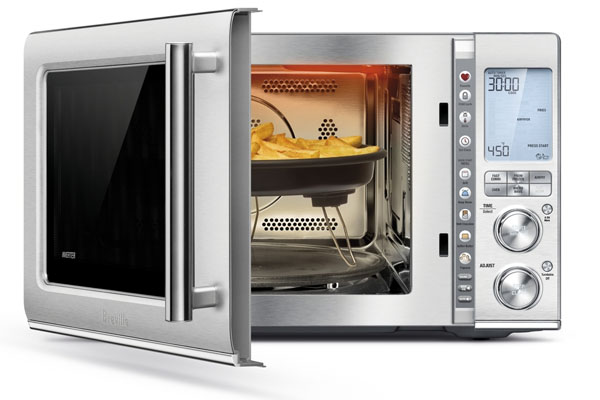 Air Fry and Bake in Your Microwave with the Breville Combi Wave 3-in-1 Microwave at Best Buy