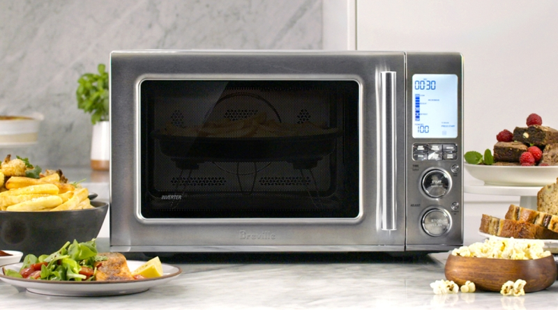 Air Fry and Bake in Your Microwave with the Breville Combi Wave 3-in-1