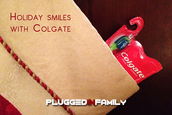 Colgate Stocking Stuffers Create Holiday Smiles
