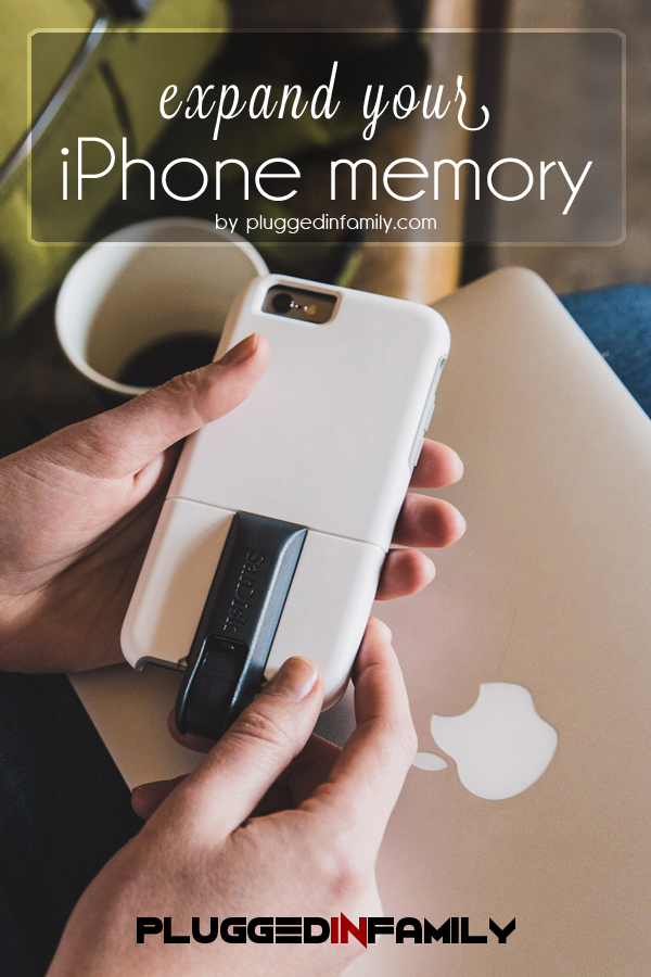 iphone storage expansion expand iphone memory with universe plugged in family 5819