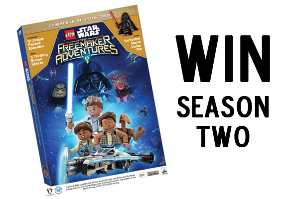 Win Season Two LEGO Star Wars Freemaker Adventures DVD