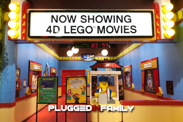 LEGO Ninjago 4D Movie Master of the 4th Dimension